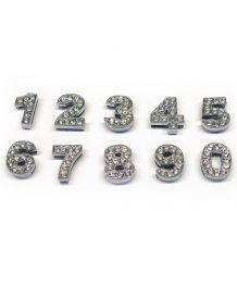 Letters for Swarovski dog collar and cat 10mm