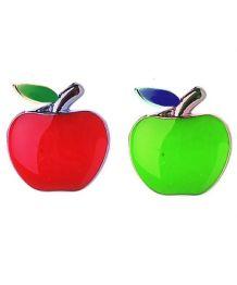 Pomme rouge 10 mm pour collier et harnais personnalisable