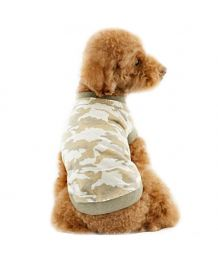 tank top fall to dog military camouflage cheap promotion free shipping pet store, mouth of love not expensive