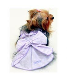 Robe mauve pour chiens et chats