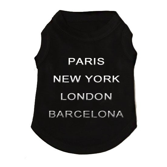 Small t-shirt for chihuahua, baby puppy cheap delivery Lyon, Marseille, Paris, Orléans, Vichy, Deauville, Cannes, St tropez