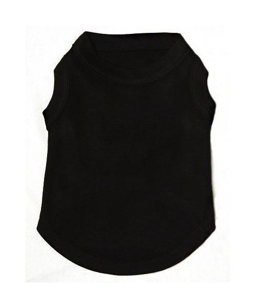 T-shirt à personnaliser uni noir - Chien et chat