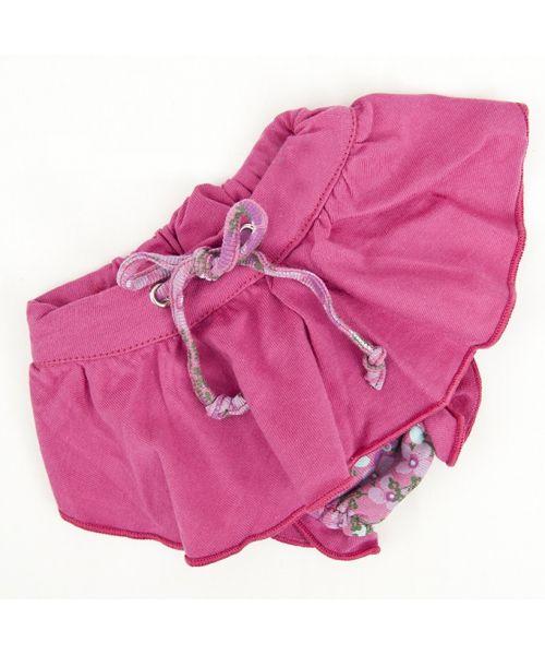 Culotte pour chien et chat rose pour femelle hygienique protectrice pas chere