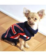 buy clothes for dog and cat fashion and trend union jack cheap, free delivery 24/48H