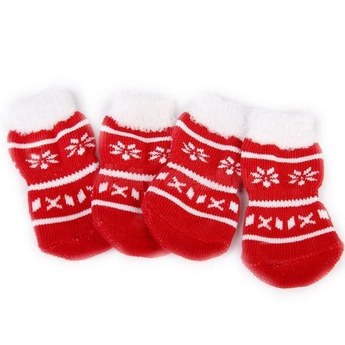 acheter chaussette de noel pour chien et chat ideal cadeau original et drole