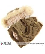 Original and inexpensive winter coat for dog, free delivery to Paris, Lyon, Marseille, Nantes, Grenoble, Vichy, Neuilly ...