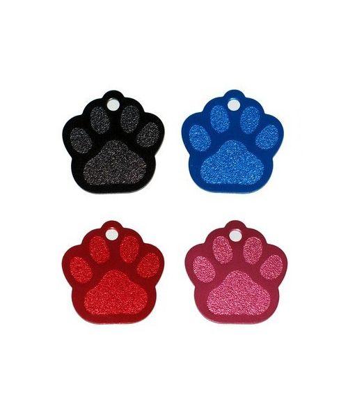 Plaque pour animaux à graver : jack, bichon, carlin, bouledogue.. couleur or, argent, violet...Livraison express offerte 24/48H