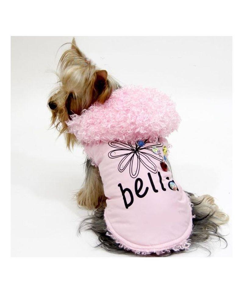 Manteau fille pour chien - Manteaux rose leopard chiens