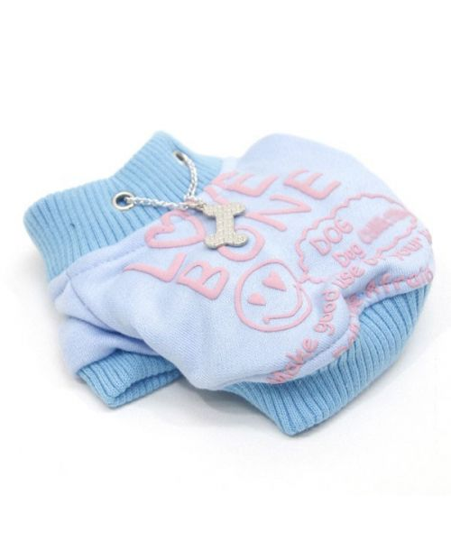 Sweater light blue for the animal to protect your dog from the snow of the cold ideal cado original for girlfriend,