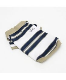 Polo in stripes of Ocean - Dog and cat