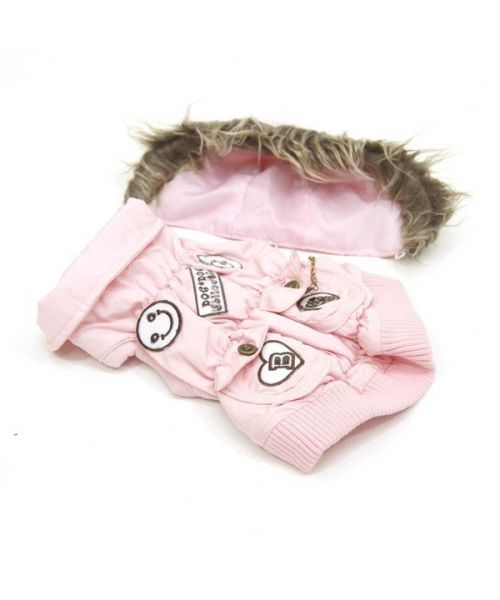 Coat for large breed animals, cheap pink girl large size, large breed on the mouth of love