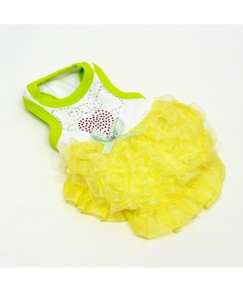 buy evening dress for small dog size and larger on our specialized shop pet fashion