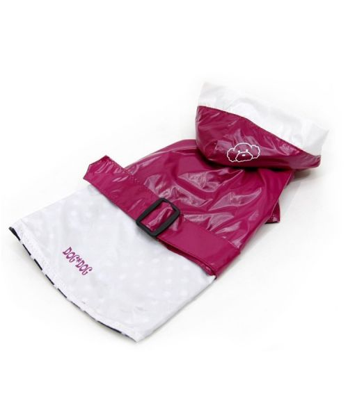 Coat waterproof for dog elegant pink against the rain, wind, delivery Grenoble, Marseille, Toulouse, Metz