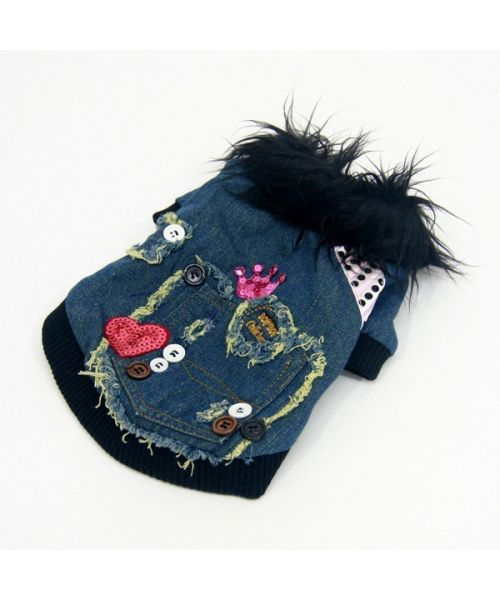 Coat for dog trendy fashion and Mouth of love, not cheaper on your shop online tend for the animals