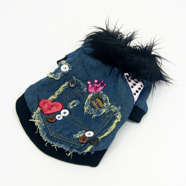 Trendy and fashionable dog coat Mouth of love cheap on your trendy online pet store for pets