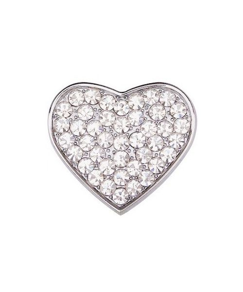 Heart rhinestones 10 mm for collar and harness customizable