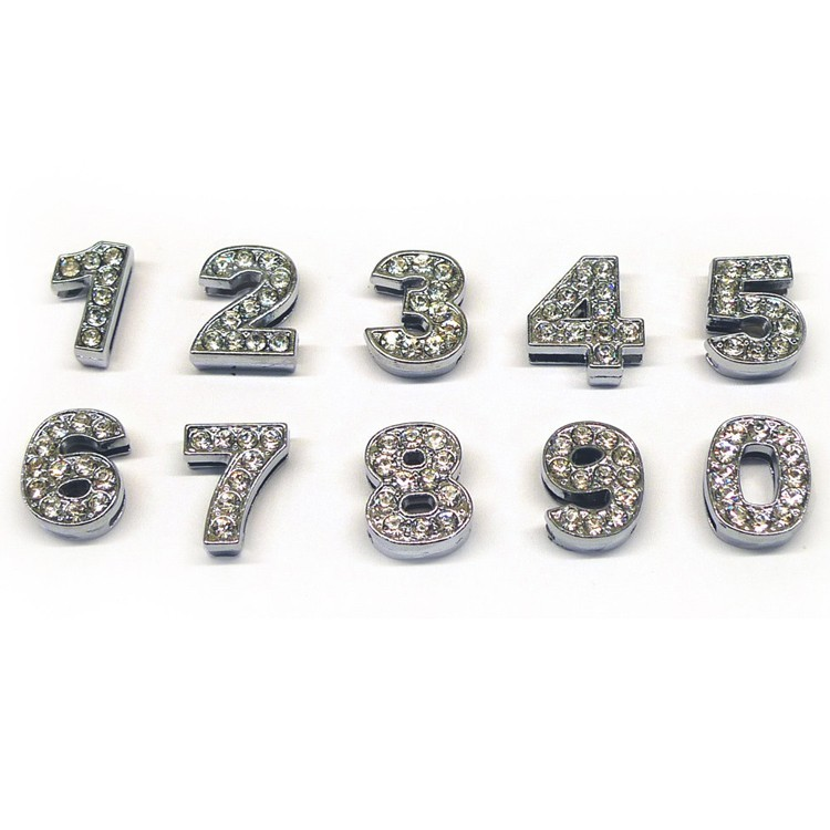 Swarovski rhinestone figures for dog and cat collar 10 mm cheap to personalize collar pet store Nancy Paris