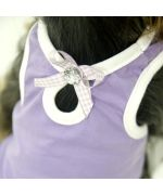 buy a t-shirt for dog girl purple rhinestone romantic style not cheap very pretty on Paris, Nancy, Marseille, Metz