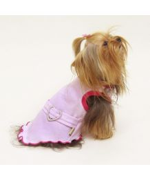 Dress pink Princess - Dog and cat
