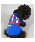 t shirt de soprt football equipe de France chien chat chiot animal chaton pas cher sur boutique en ligne gueule d amour