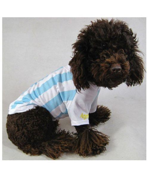maillot foot chien chat equipe d'argentine coupe du monde football pour chihuahua york westie bichon lhassa shitzu...