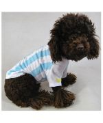 jersey football cat dog team of argentina world cup football for chihuahua york westie bichon lhasa shitzu...