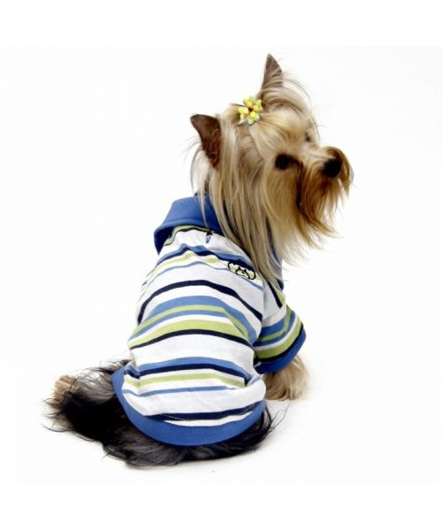 chic classy polo shirt for small and large dogs original dog Christmas gift for summer or winter on luxury dog fun boutique