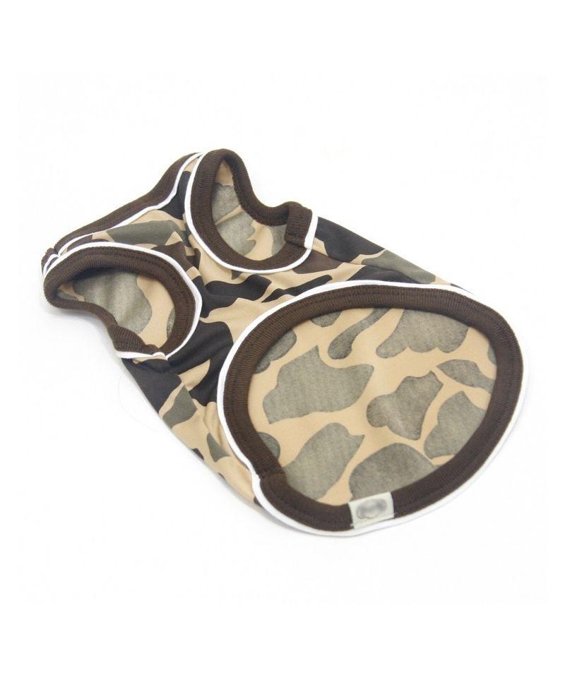t shirts camouflage pour chiens gueule d 39 amour. Black Bedroom Furniture Sets. Home Design Ideas
