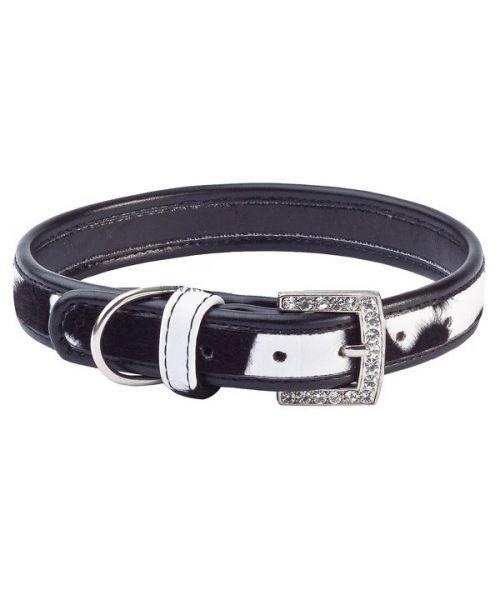 acheter collier noir strass pour westie tres classe fashion beau design cuir livraison marseille nantes lyon mulhouse