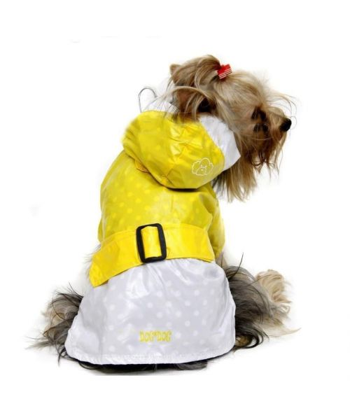 Waxed waterproof dog yellow original gift marine dog cheap christmas birthday...shop mouth d love