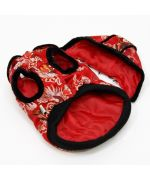 red coat for dog original chinese asian cheap christmas gift winter pet fashion trends