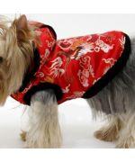 veste asiatique pour animaux de compagnie chien yorkshire, caniche, bichon, lhassa apso, shitzu, cavalier king charles...