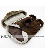 Collection of clothes winter for dog puppy dog pets original and fun waterproof warm snow rain