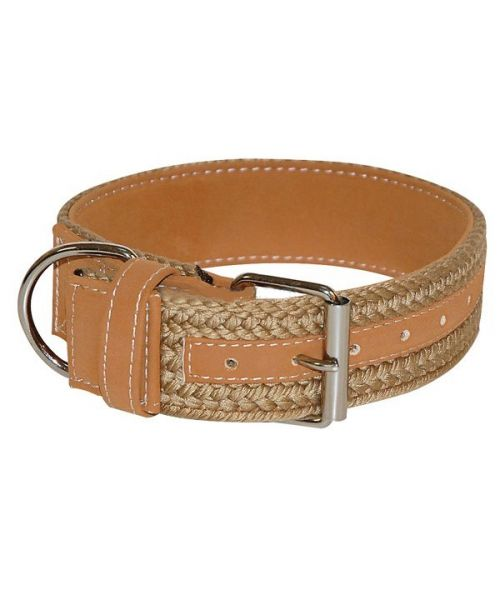 Collar for large dog brown large for large breed stylish chic class free shipping promotion cheap