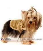 clothing winter for large dog hot original creator mouth of love mark French novelty fashion pets