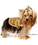 vetement hiver pour grand chien chaud original createur gueule d amour marque francaise nouveauté mode animaux de compagnie