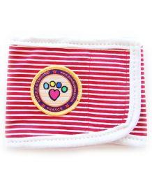 Bandeau Anti-Pipi pour chiens mâles Gueule d'Amour Sailor rouge