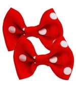 Barrette polka dot dog yorkshire terrier delivery Cannes, Vichy, Metz, Nancy, Luneville, Dom Tom, Australia, etc.