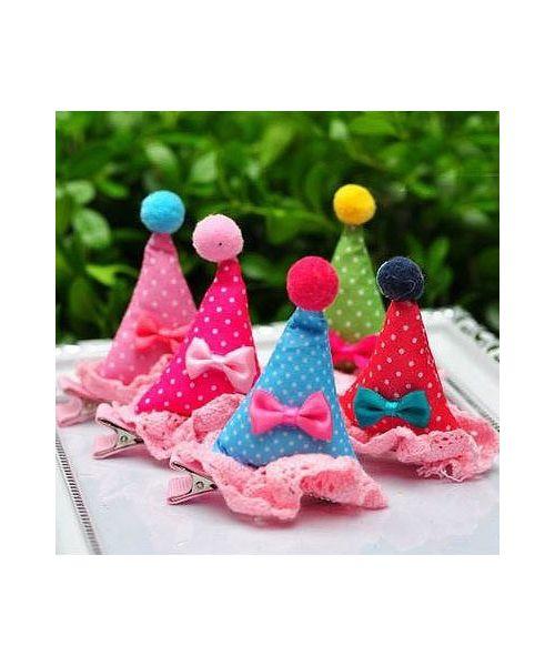 acheter cadeau barrette chapeau pour chien special anniversaire, fête, mariage en vente dans notre boutique chien gueule d amour