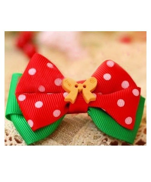 Buy strip christmas small dog, original, and cute with a clip or elastic on our shop for animals