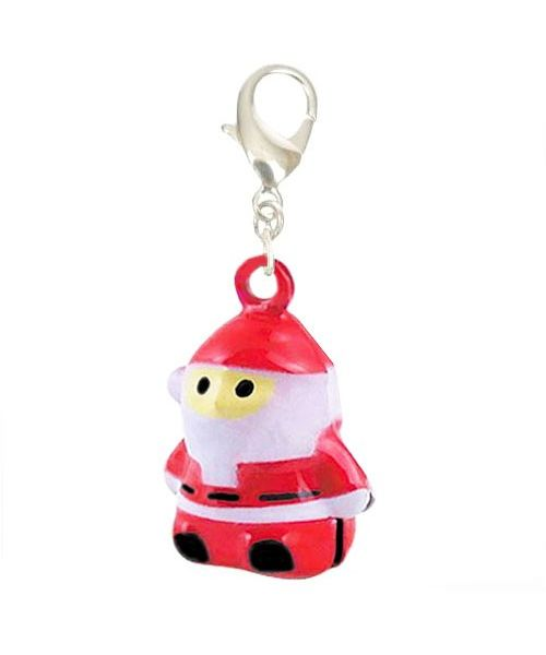 Pendant bells-Father Christmas dog and cat with bell original delivery to Paris, Lyon, Dijon, Nantes, Albi, Cannes, Nice...