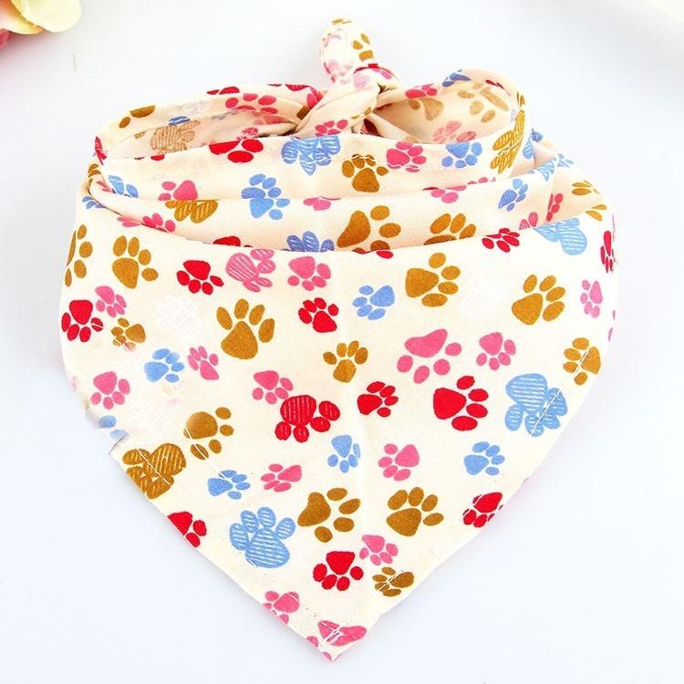 bandana pour animaux rigolos avec pattes de chien chez gueule d amour