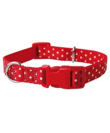 Padded polka dot red - Dog and cat