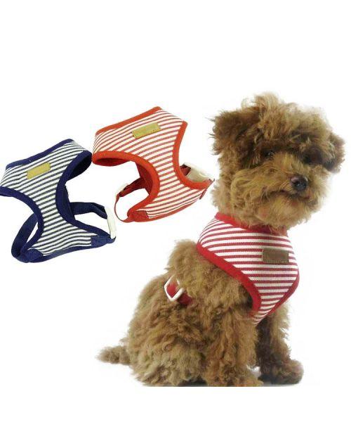 baudrier pour chien rouge harnais veste pour animaux petite grande race animalerie en ligne