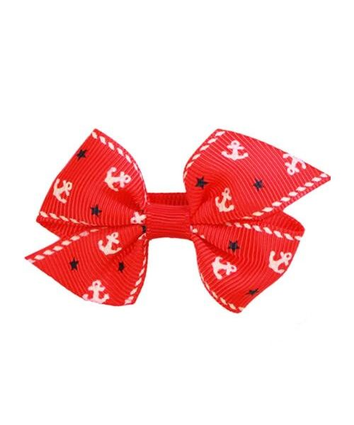 Crocodile clip red hearts for animals child girl baby fashion adorable not expensive on shop fashion child girl
