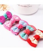 Barrette for dog with alligator clip adorable knot clings easily to bichon, lhasa, shitzu, poodle, york