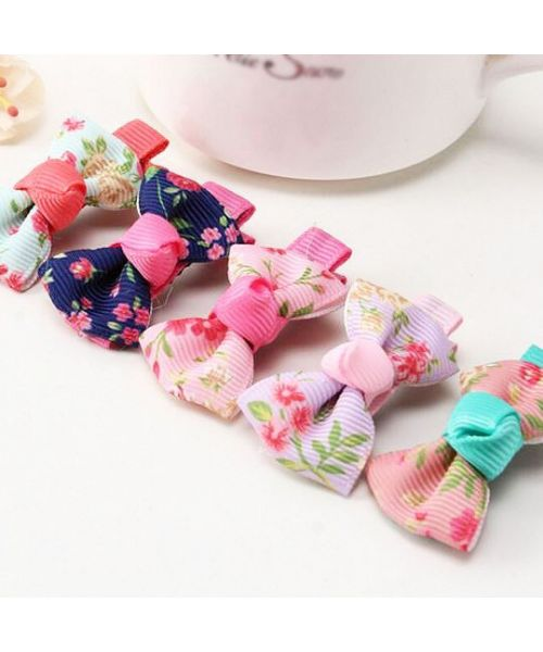 sale of original and inexpensive flower clips for dogs: lhasa, westie, shitzu, yorkshire terrier, bichon ..