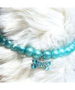 Buy pearl necklace for pets not expensive for birthday gift dog cat puppy