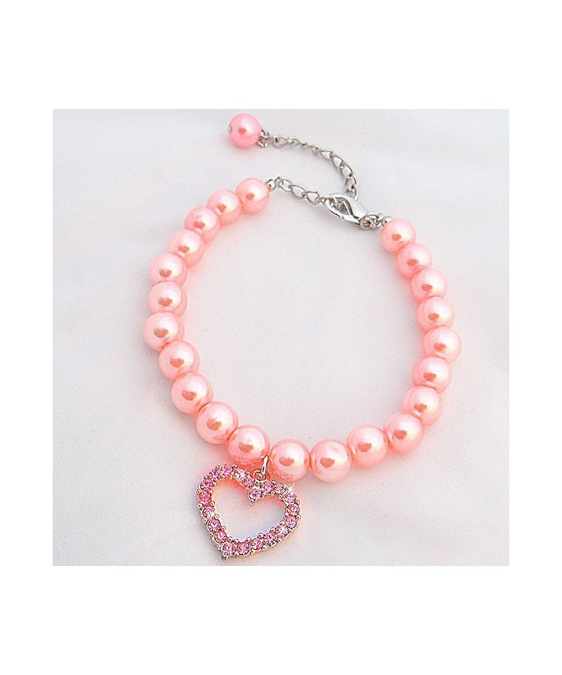 collier perle pour chat