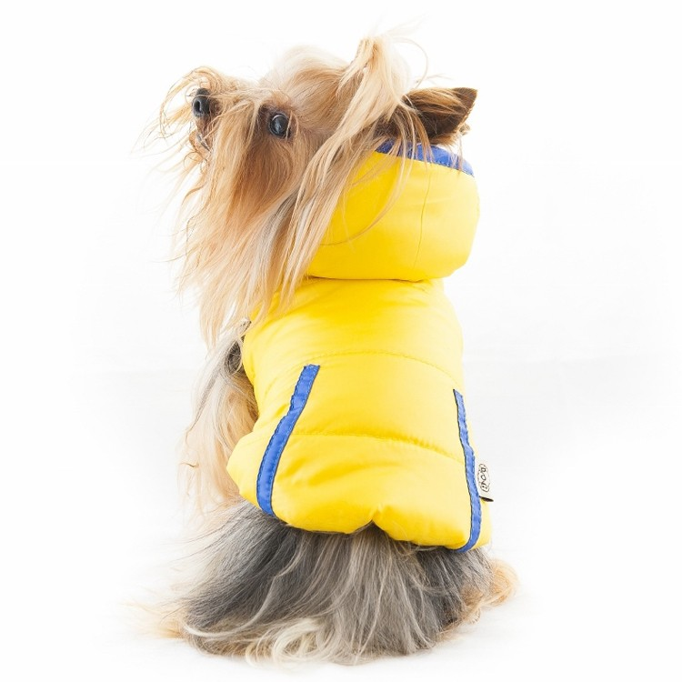 Buy waterproof coat for large dogs for the snow chic with fur hood trendy pet shop design